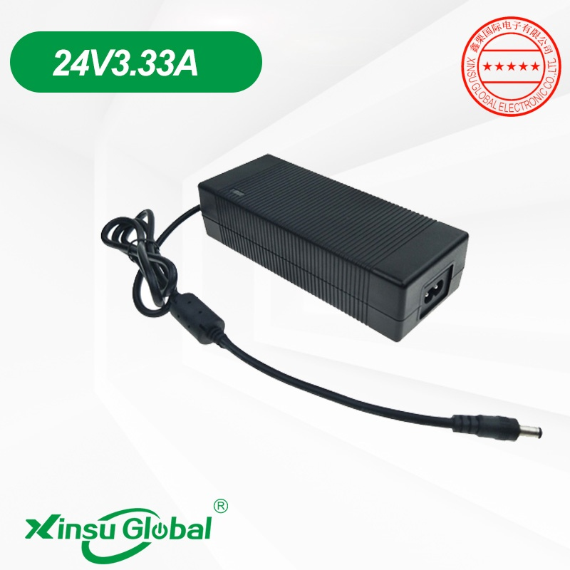 24V3.33A portable oxygen concentrator ventilator external power supply adapter