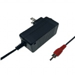 UL cUL FCC approved 12.6V 0.6A battery power adapter charger