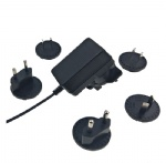 Multi interchangeable plugs head sock 9V 1A switching power supply ac adapter