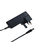 TUV CE listed UK plug switching power supply adapter 12V 3A