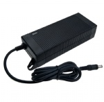 UL KC PSE CE GS SAA listed 14.6V 5A LiFePO4 battery charger adapter with screw hole
