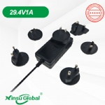 Audio Interchangeable detachable plug switching power supply adapter 18V 2A