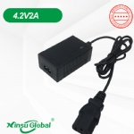 Koera KC KCC certificated 4.2V 2A Li-ion battery charger adapter