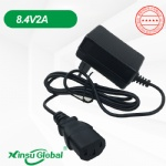 Korea KC KCC certificated lithium ion battery 8.4V 2A charger