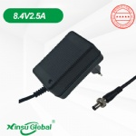 Korea KC KCC certificated lithium ion battery 8.4V 2.5A charger