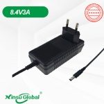 KC KCC certificated 8.4V 3A charger