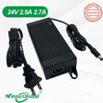 Certificated 24V 2.7A switching power supply