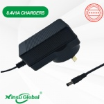 Australia SAA listed 8.4V 1A li-ion battery charger adapter